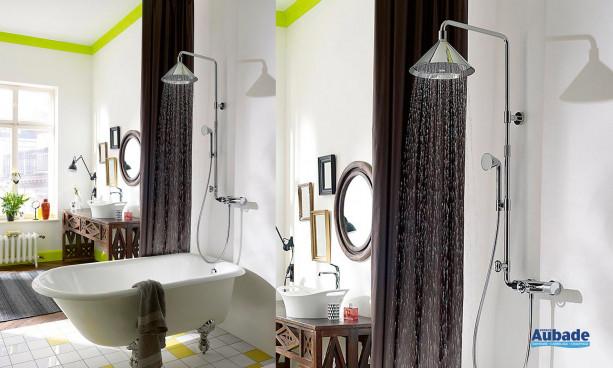 baignoire avec showerpipe