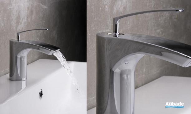 Mitigeur design avec cascade Bollicine Cristina