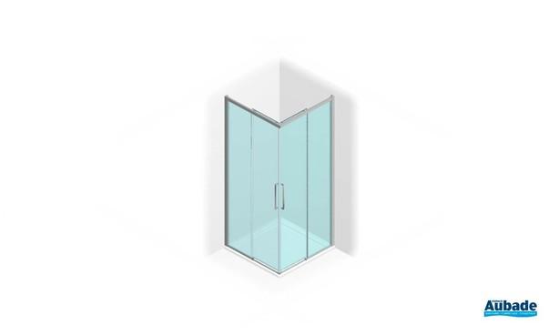 Paroi de douche au design épuré série 7000 de Vismara 1
