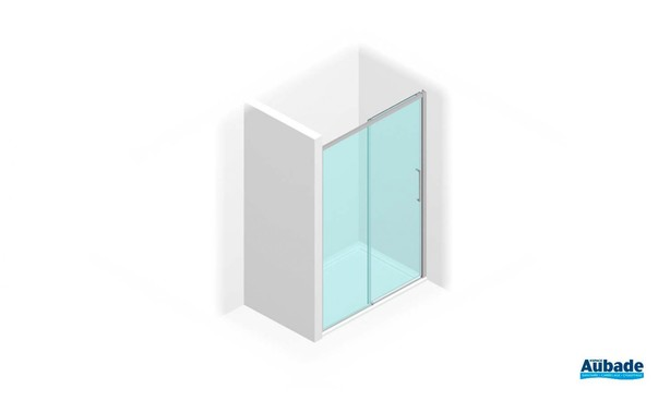 Paroi de douche au design épuré série 7000 de Vismara 4