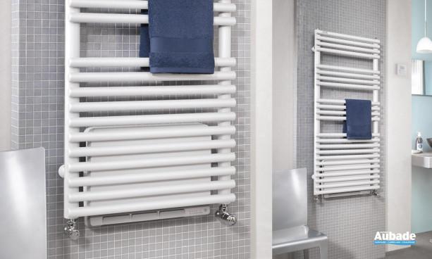 Radiateur sèche-serviettes Cala +Air de Acova confort et soufflant invisible