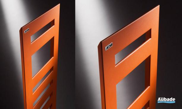 Radiateur sèche-serviettes Karena Spa de Acova coloris orange