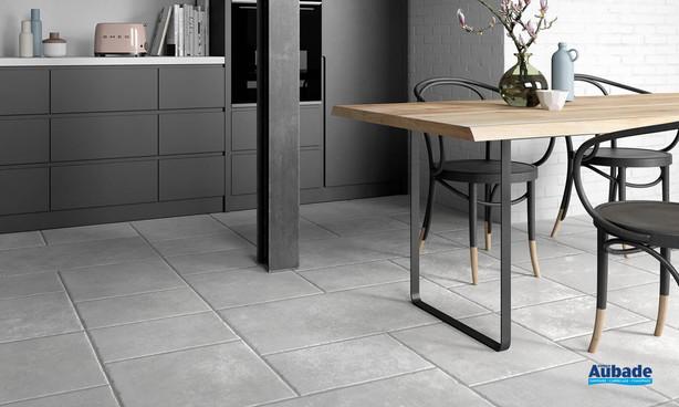 Collection Ciment par Settecento en coloris Bianco