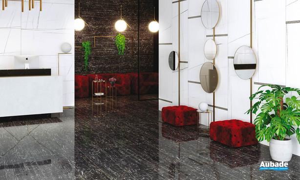 Collection Reverse par Settecento en coloris Miroir, Crystal et Bacchetta Net