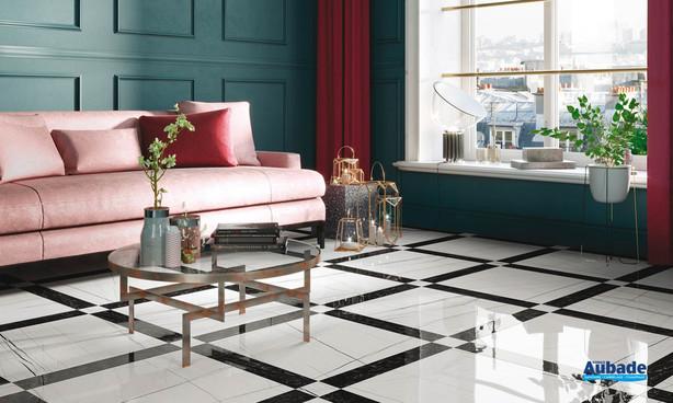 Collection Reverse par Settecento en coloris Crystal et Miroir
