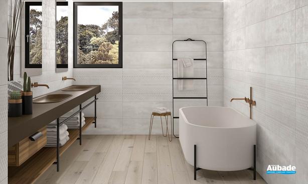 Collection Channel par Tau Ceramica en coloris White