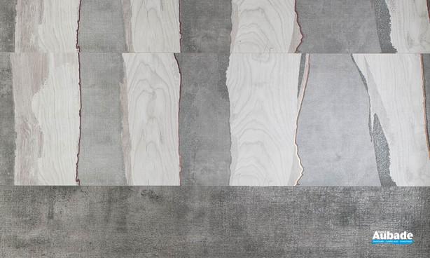 Collection Channel par Tau Ceramica en coloris Gray et Silver