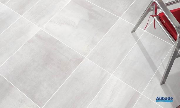 Collection Corten par Tau Ceramica en coloris Blanco