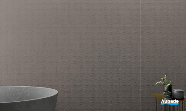 Collection Palomastone Wall par Tau Ceramica en décor RLV Neo Graphite