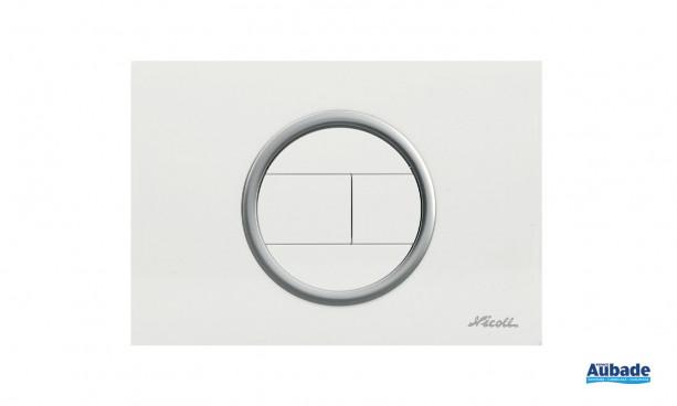 toilettes bati-support nicoll plaque de commande evo
