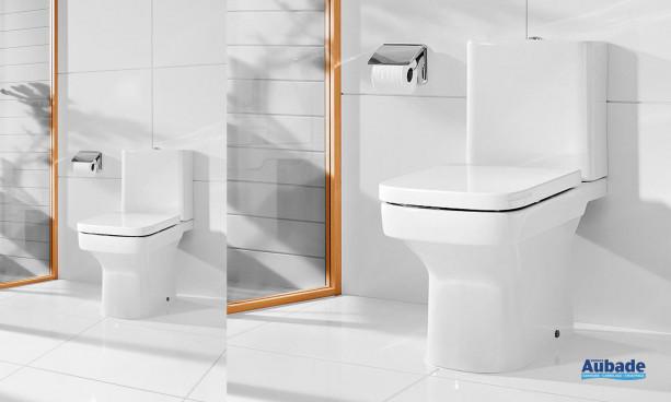 WC avec deux types de réservoirs, standard ou « One piece » Dama-N de Roca