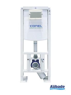 Bâti-support autoportant élaboré par la marque Conel et adapté aux wc suspendus Vigour