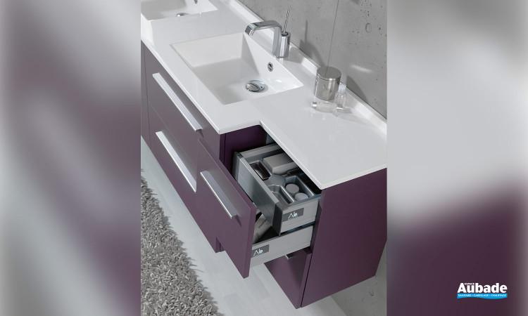 Meuble de salle de bains City par Ambiance Bain 3