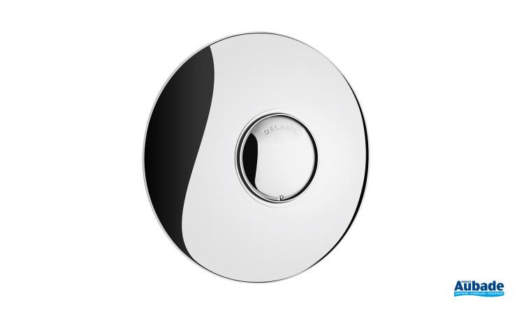 Robinet temporisé à bouton poussoir chromé simple touche Tempofix 2 Delabie