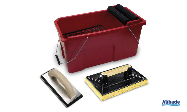 Mise en oeuvre et finition Corail kit rubiclean pro