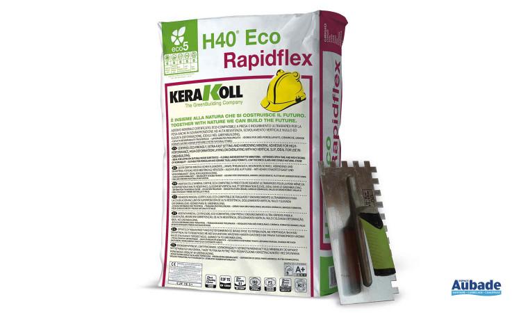 Mise en oeuvre et finition H40 Eco Rapidflex 1