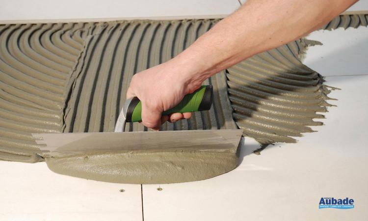 Mise en oeuvre et finition Kerakoll H40 Eco Rapidflex