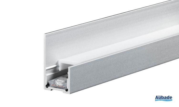 Mise en oeuvre et finition Schlüter Systems Liprotec ruban à led et profilé en aluminium