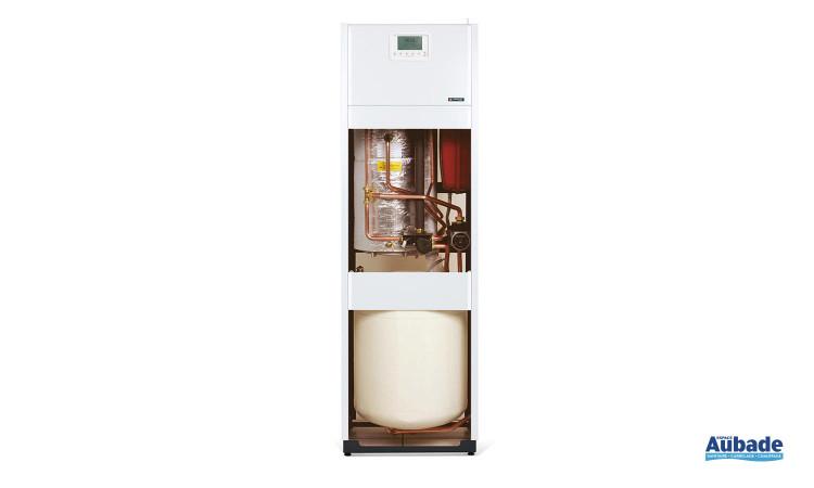 Chaudière au sol gaz Prestige Condensation 20 kW de Frisquet avec système Eco Radio System pour réguler la température