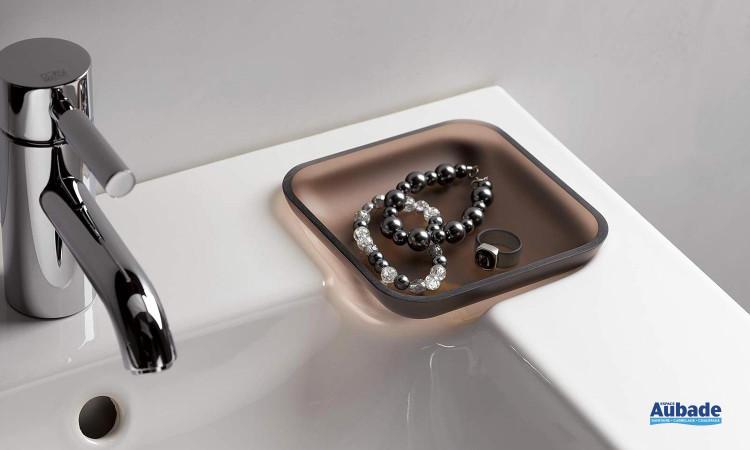 Détail du plan vasque d'Allia de la collection Lovely