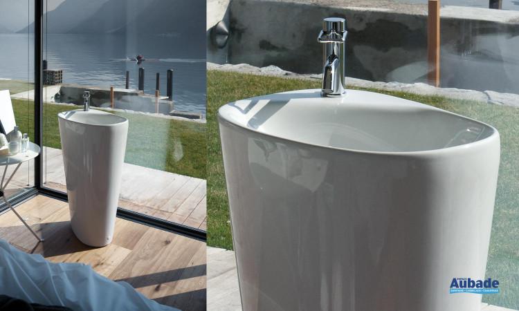 lavabo Menhir de Laufen, collection Palomba