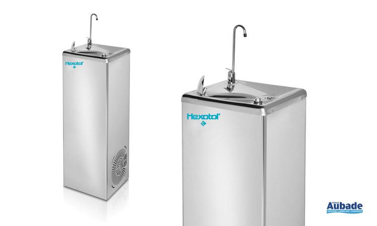 Fontaine d'eau collective avec jet d'eau d'Hexotol