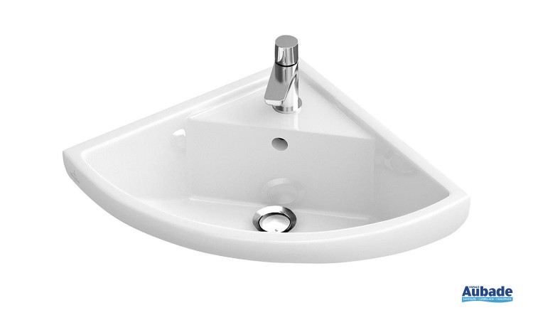 Lave-mains d'angle compact Villeroy & Boch