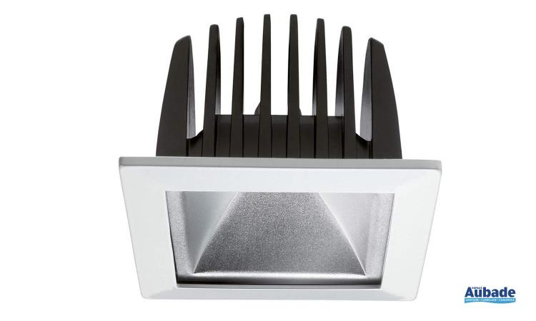Downlight à LED performante Insaver 75 Eco LED de Lumiance - Carré
