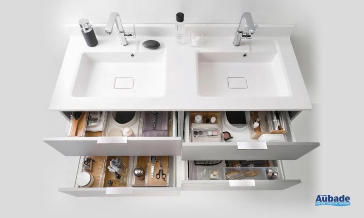 Meuble salle de bain Delphy Evolution EC140MK 2