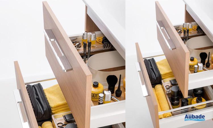 Collection meubles de salle de bains Delpha Graphic GC63D, tiroir