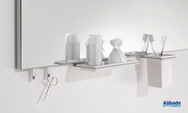 Espace miroir avec accessoires à portée de mains inspirations NT160DA
