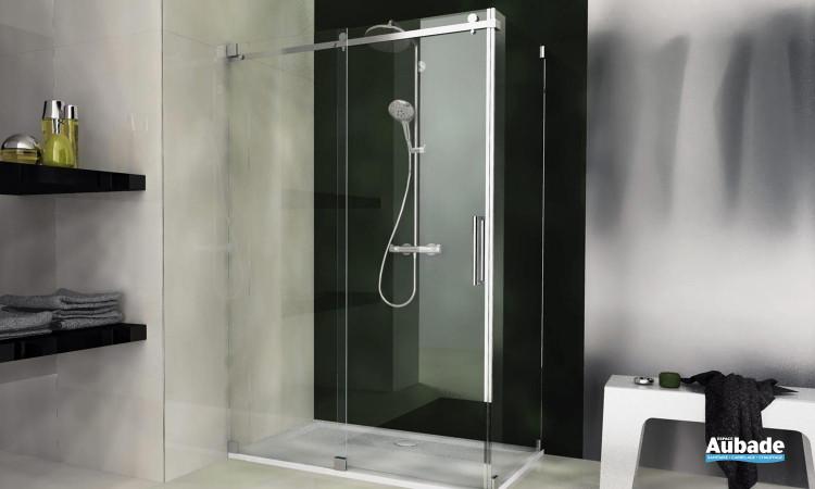 paroi de douche leda altus + paroi fixe