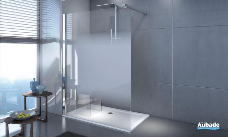 paroi de douche ouverte Leda django design et tendance