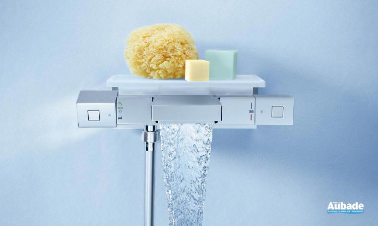 Mitigeur thermostatique bain / douche Grohtherm Cube de Grohe