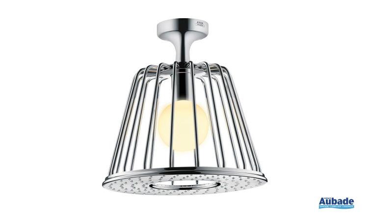 Axor LampShower avec raccord plafond 73 mm designed by Nendo