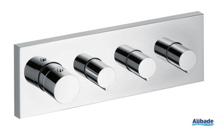 Module thermostatique avec 3 robinets d'arrêt de Axor