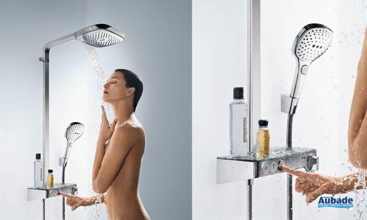 Colonne de douche Hansgrohe Showerpipe Raindance Select E300 3jet