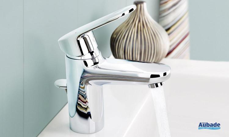 Mitigeur lavabo EcoJoy débit régulé Europlus de Grohe