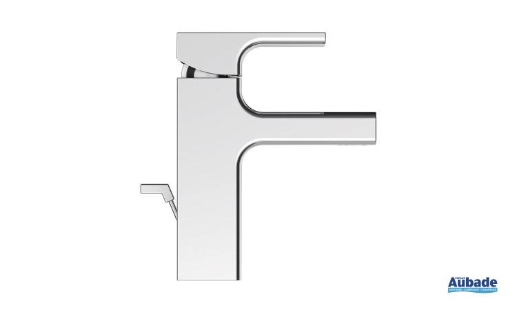 Mitigeur lavabo, aérateur inclinéanticalcaire, Strayt de jacob Delafon