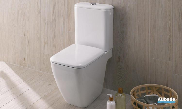 Pack WC au sol Arum Rimfree sans bride blanc par Arum
