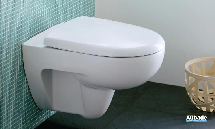 Pack WC suspendu Prima Rimfree sans bride blanc par Allia