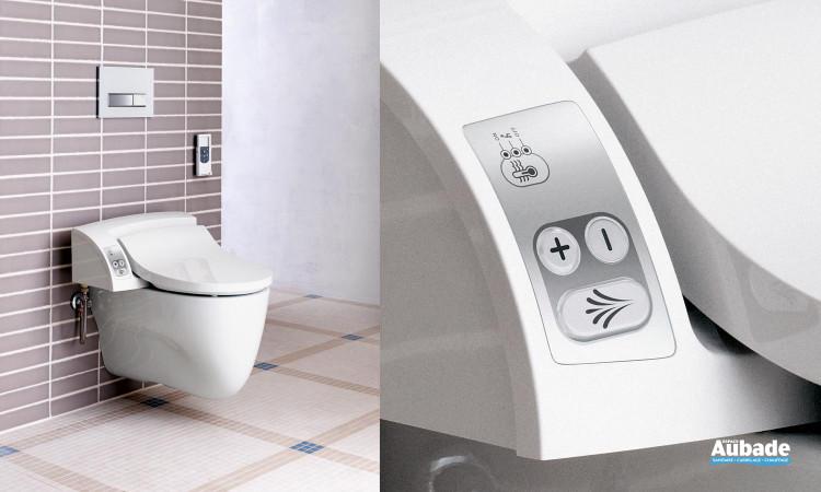 WC abattant lavant avec douchette AquaClean de Geberit