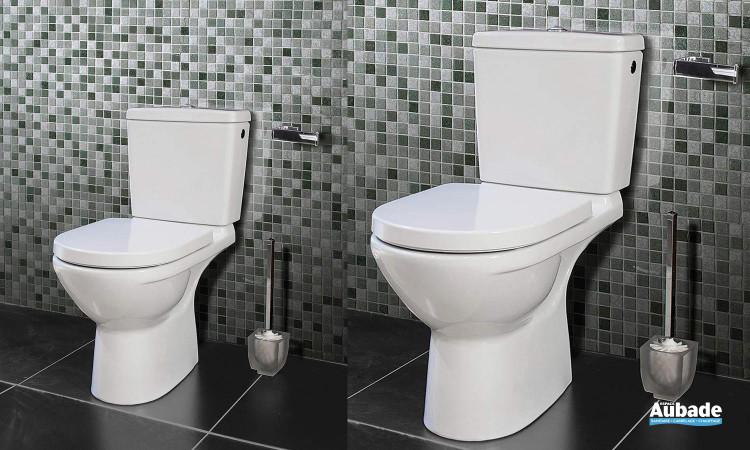 Ensemble WC avec cuvette à fond creux O.novo Plus de Villeroy & Boch