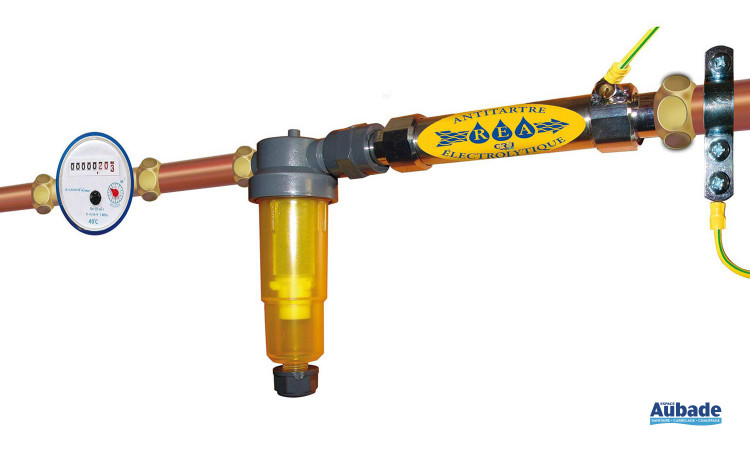 Pack Rea Antitartre électrolytique + filtration de CR2J