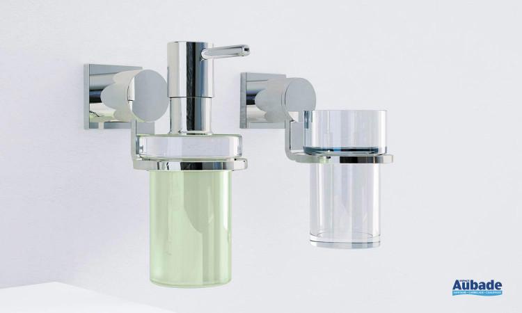 Accessoire Salle de Bain Verre cristal Allure 1