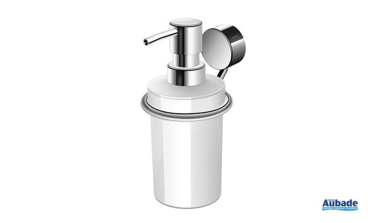 Accessoire Salle de Bain Distributeur de savon liquide de Hewi - Blanc