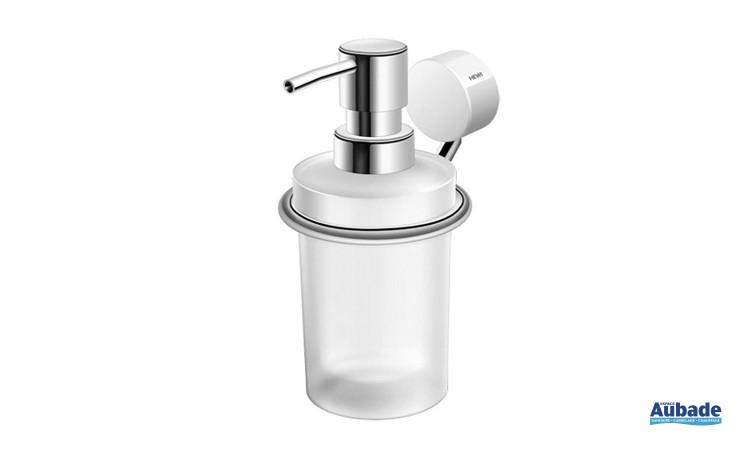 Accessoire Salle de Bain Distributeur de savon liquide de Hewi - Chromé