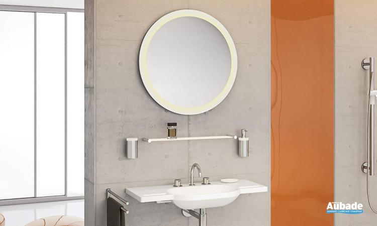Miroir lumineux à led Système 162 de Hewi