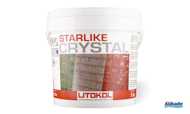 Mortier époxydique translucide Starlike® Crystal de Litokol