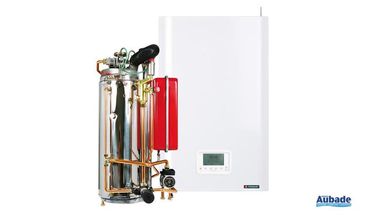 Chaudière murale gaz HYDROMOTRIX Condensation 20 kW de Frisquet